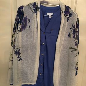 Ladies top and sweater